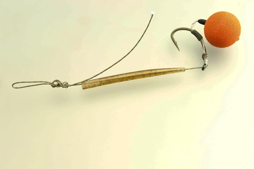Вязание рыболовных крючков для бойлов 32