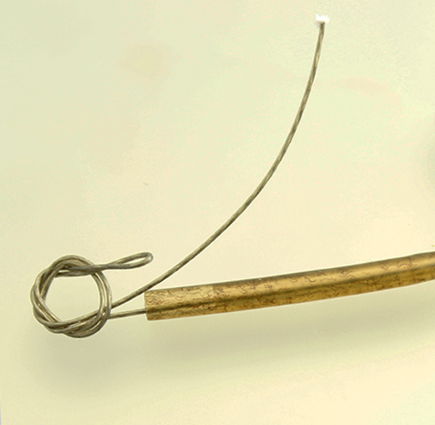 Поводок из лески для рыбалки своими руками